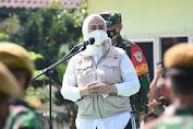 Bupati Cellica Umumkan Pemberlakuan PPKM Darurat di Karawang