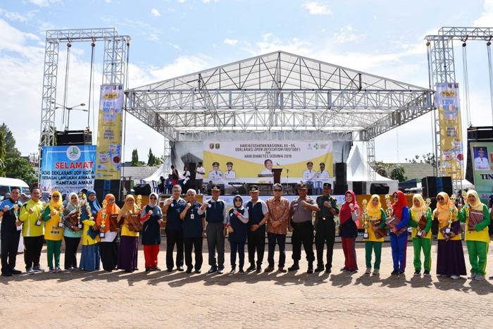 Peringati HKN, Pairin Berharap Tahun 2020 Kota Metro STBM