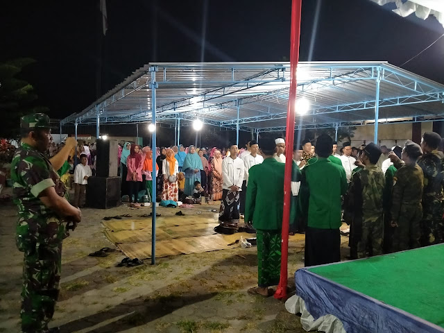 Babinsa Koramil Manisrenggo Ikuti Pengajian Dzikir Dan Sholawat