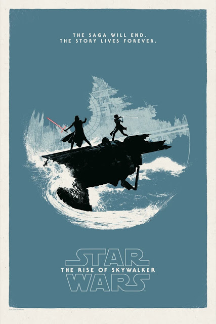 Star Wars: The Rise Of Skywalker Screen Print by Matt Ferguson x Bottleneck Gallery