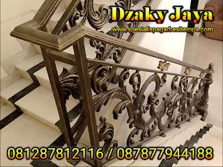 model railing tangga besi tempa, railing tangga klasik, railing tangga besi ulir (14)