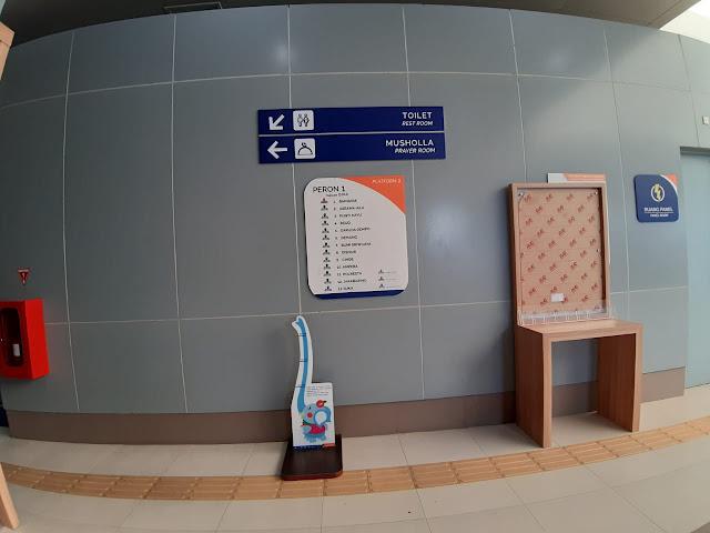 Kecepatan LRT Palembang