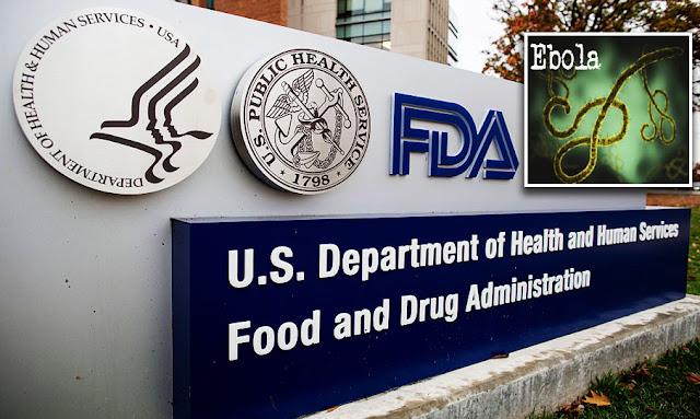 إدارة الغذاء والدواء الأمريكية توافق على أول علاج أمريكي لفيروس الإيبولا