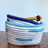 diy corded basket