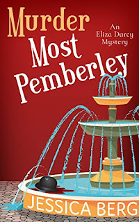 Murder Most Pemberley - a cozy mystery by Jessica Berg - book promotion sites