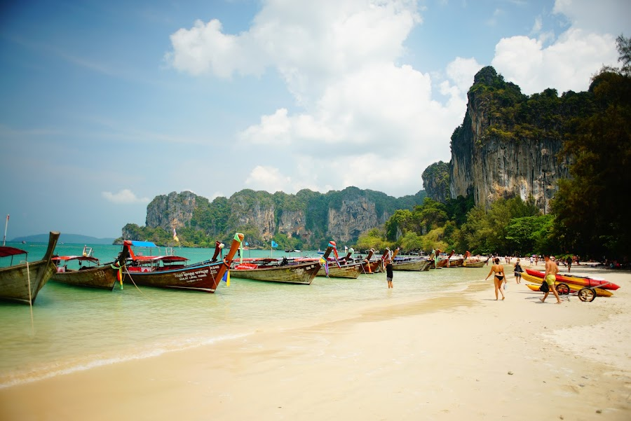 Krabi, Railay beach