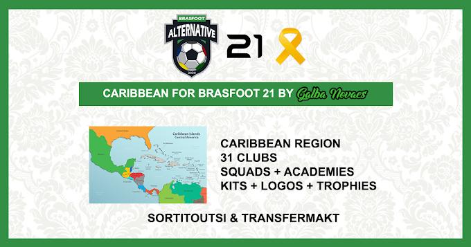 Times Avulsos do Caribe - Brasfoot 2021