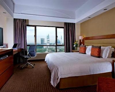 view bilik hotel concorde shah alam