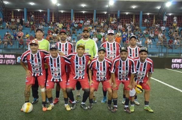 Barretos goleia São Paulo e Botafogo termina em primeiro no Grupo B do Paulista de Showbol (Prefeitura de Barretos) - foto 1