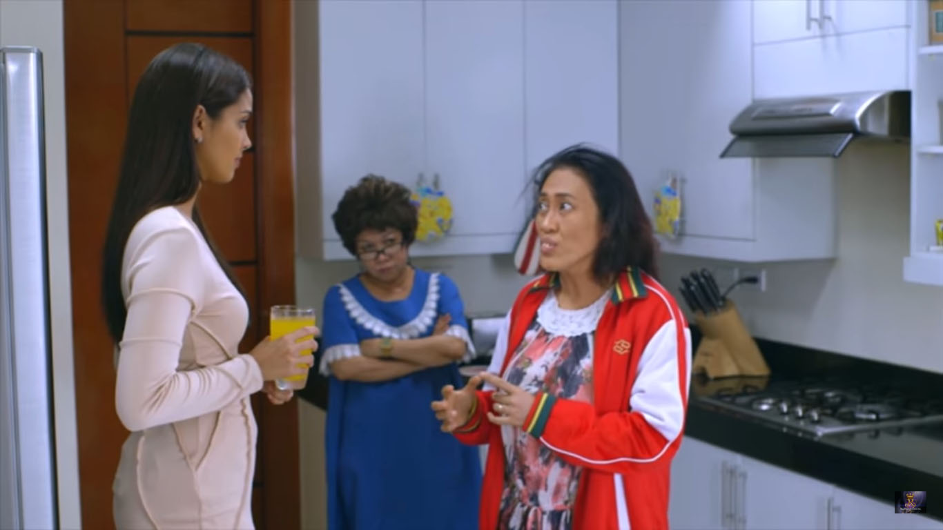 Our Mighty Yaya 2017 comedy film featuring Ai-Ai Delas Alas as a nanny working for the family of Zoren Legaspi and Megan Young with their kids Sofia Andres, Lucas Magallano, Alyson McBride