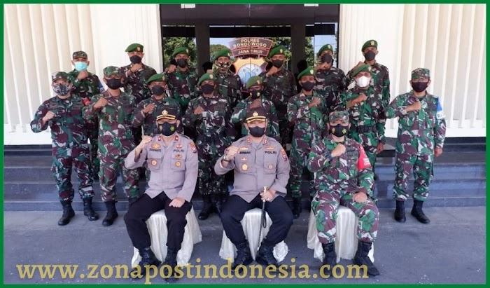 Kapolres Bondowoso, Beri Pengarahan Kepada Bintara Abit Dikjurba Otsus TNI AD