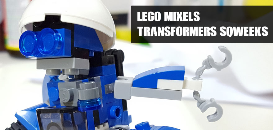Using Lego Mixels To Build Transformers Sqweeks