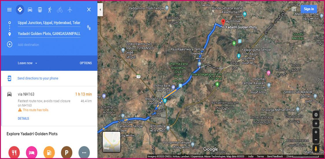 Google Maps satellite images-2