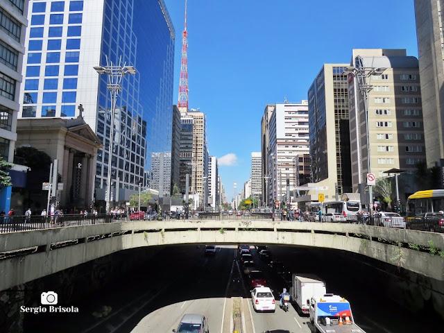 Vista panorâmica da famosa Avenida Paulista - Consolação / Bela Vista - São Paulo