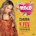 Claudia Leitte abre o seu Carnaval no Rio de Janeiro pela  primeira vez