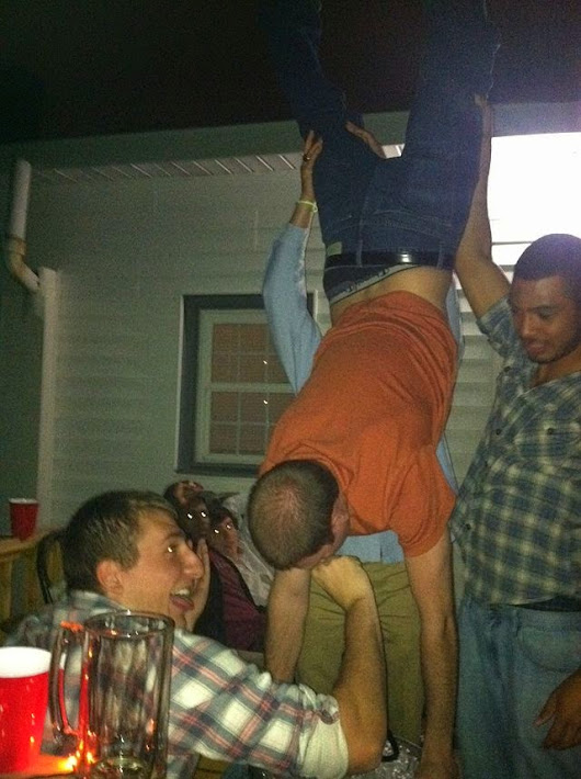 Because there aren't enough important things to be paranoid about, there's that keg stand you did that one time