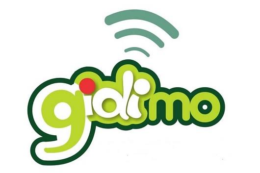 Gidimo app free data