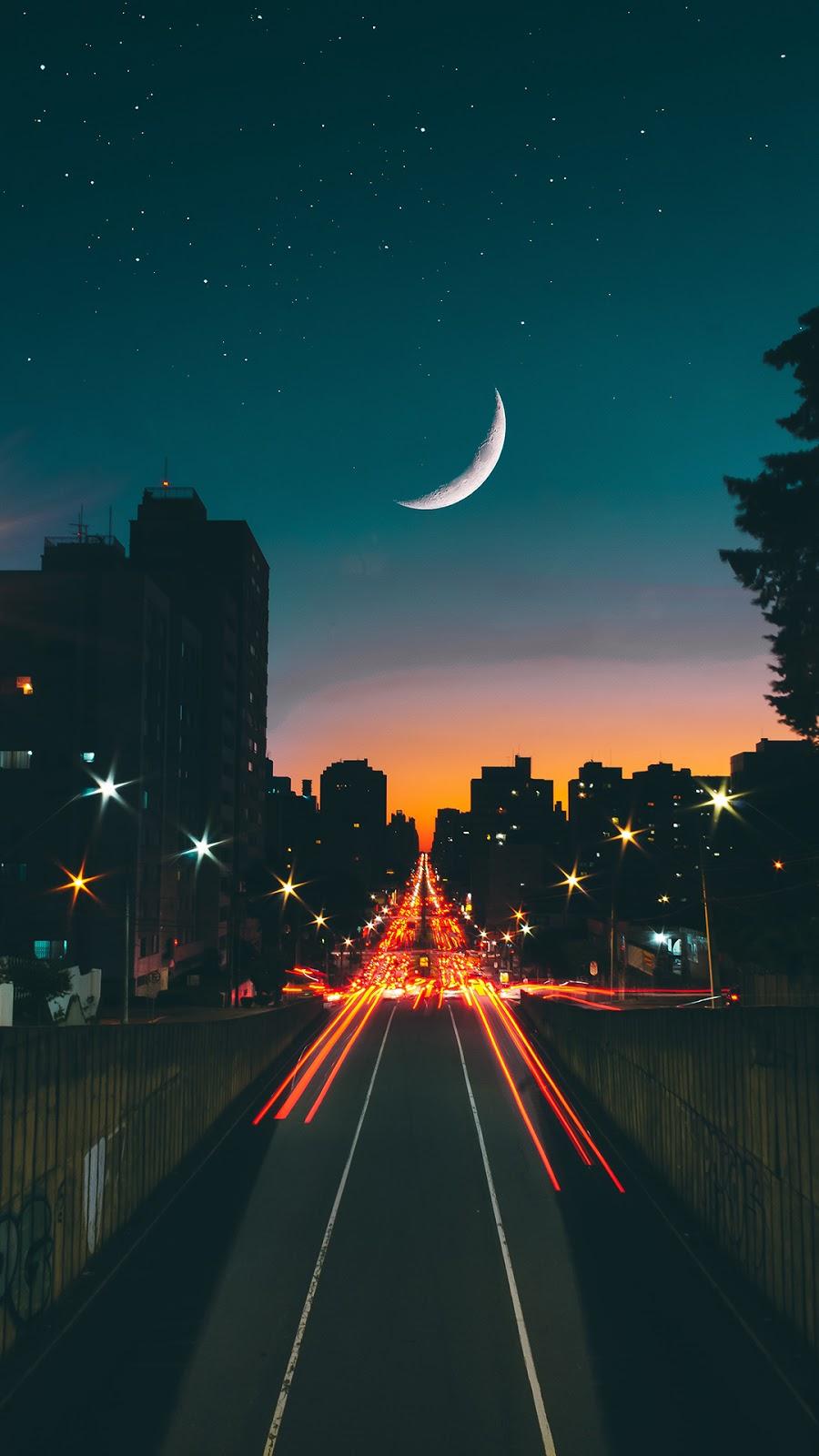 city night moon