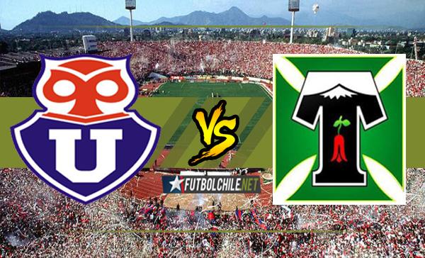 Universidad de Chile vs Deportes Temuco
