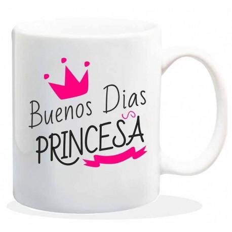 taza de café buenos días princesa