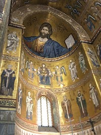 Details from Monreale Cathedral, Sicily: The Bible in Stone and Mosaic