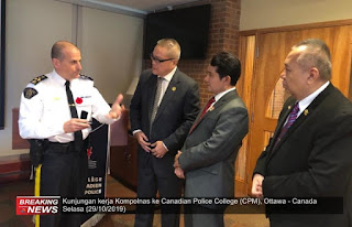 Komisioner Kompolnas kunjungi Ottawa