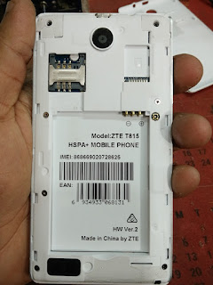 Firmware File Stock ROM ZTE T815