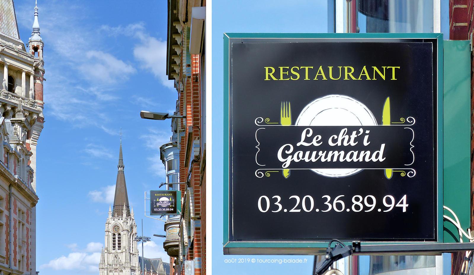 Restaurant Ch'ti Gourmand, Tourcoing centre.