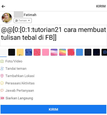 2 Cara Membuat Tulisan Tebal Di Facebook 100 Work Yytext is of type char* and it contains the lexeme currently found. membuat tulisan tebal di facebook 100 work