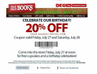 Half Price Books coupons april 2017