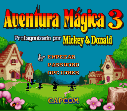 magical quest 3 snes