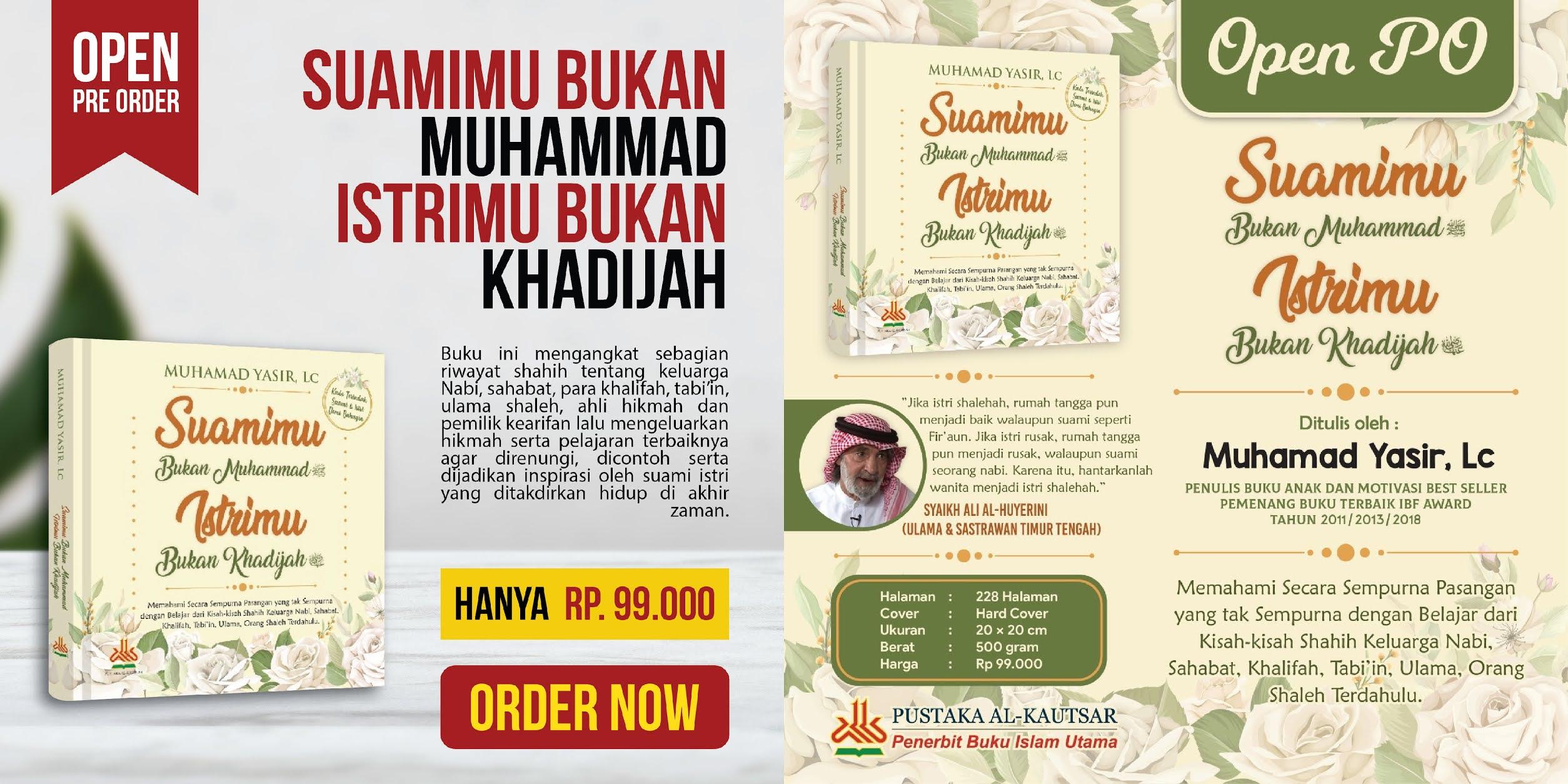 Order Buku Suamimu Bukan Muhammad -  Walimahanid