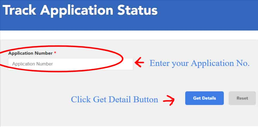 Bank of Baroda Credit Card Status with Application Number