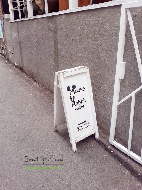 Cute Mouse Rabbit Cafe Super Junior Yesung Seoul Korea