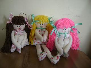 fotos+063 - Bonecas pernudinhas em tecido
