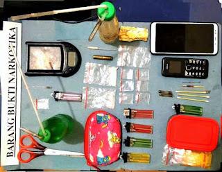 Narkoba di Way Kanan : Pelaku Diduga Pengedar Sabu Diringkus Polisi