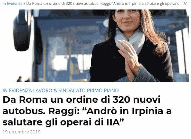 Da Roma un ordine di 320 nuovi autobus