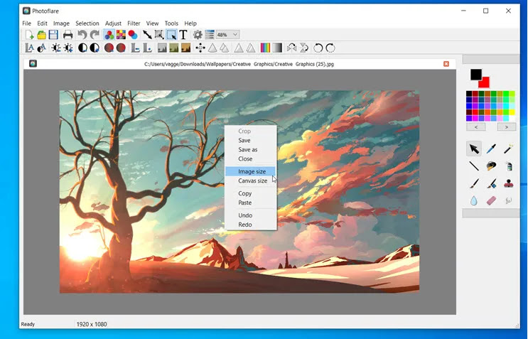 Photoflare :  Ο επεξεργαστής εικόνας που συνδυάζει ισχυρά χαρακτηριστικά με  ευκολία χρήσης