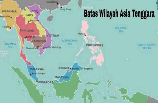 Batas Wilayah Asia Tenggara