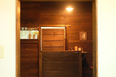 森カフェ たび茶 レジカウンター