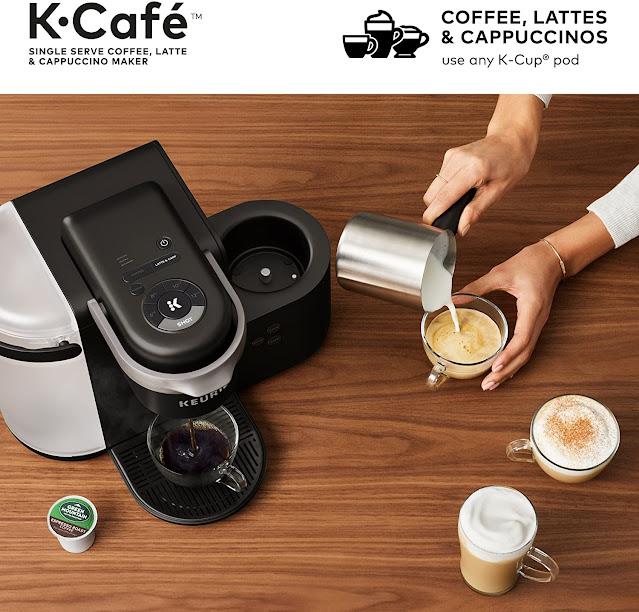 Latte and Cappuccino Maker