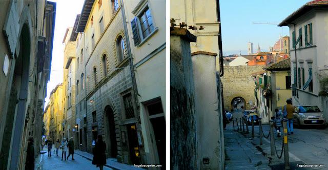 Ruas de Oltrarno, Florença