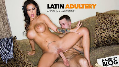 Latin Adultery – Angelina Valentine hot latina fucks a big cock (2020/FULLHD)
