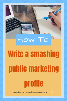 How to write a smashing public marketing profile