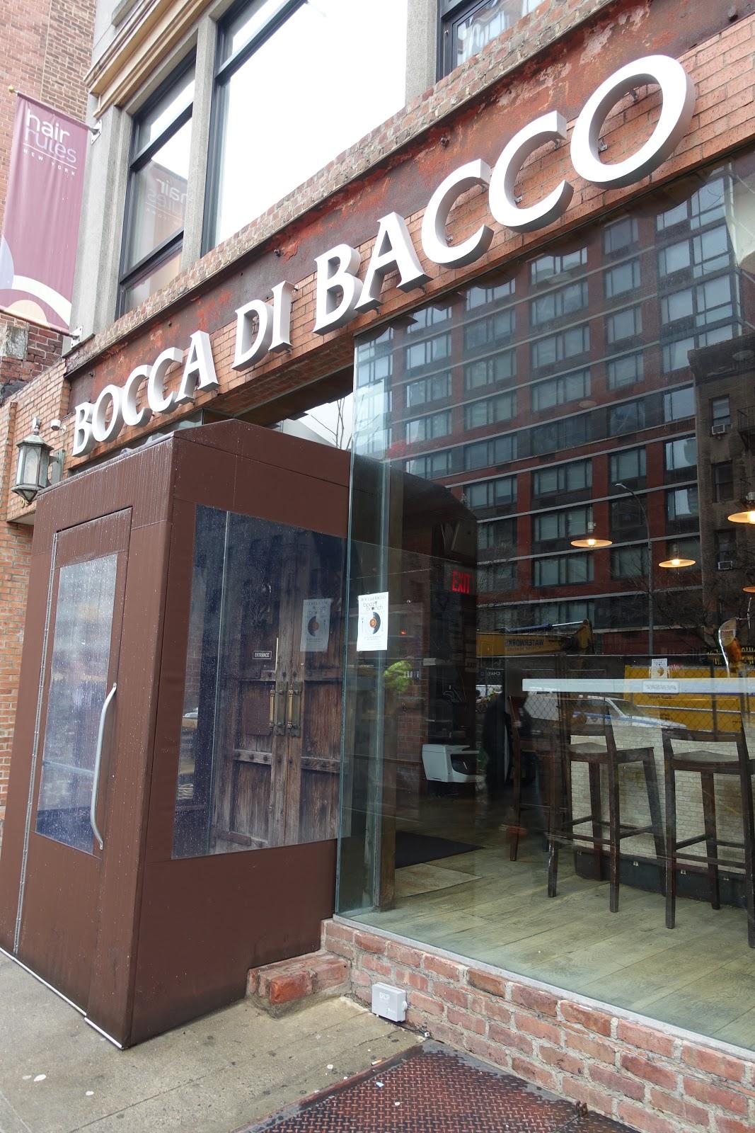 タケマシュラン Bocca Di Bacco Theater District Hell S