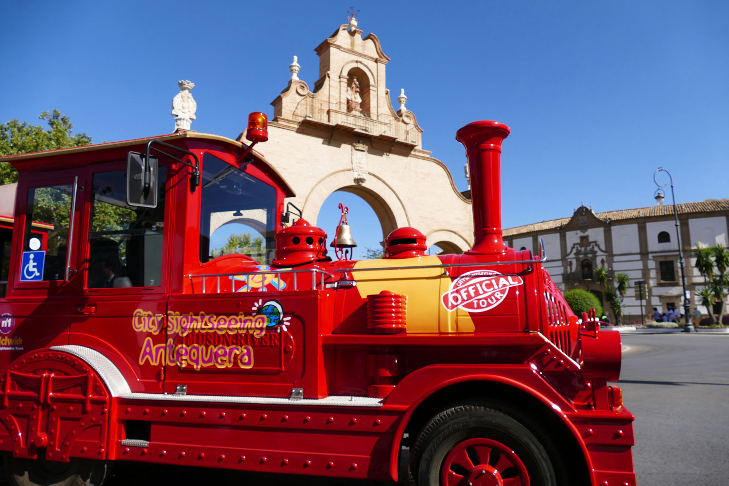 locomotora city sightseeing antequera