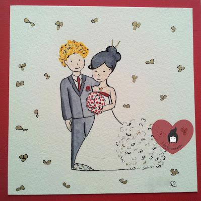 carte voeux mariage gratuite à imprimer