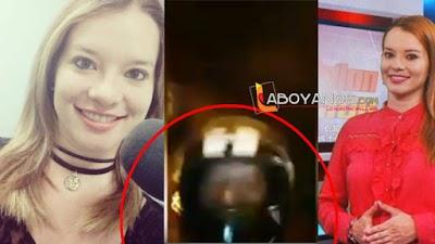 A periodista le robaron el celular mientras grababa una entrevista en Neiva