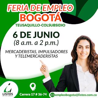 Feria de #Empleo - Convocatoria  en Bogota