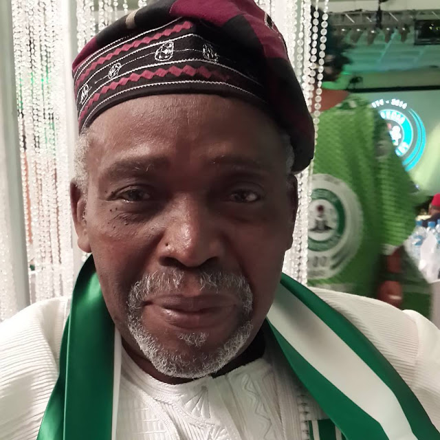 Veteran actor Olu Jacob clocks 75 and his wife Joke silver sends him mind-blowing wishes